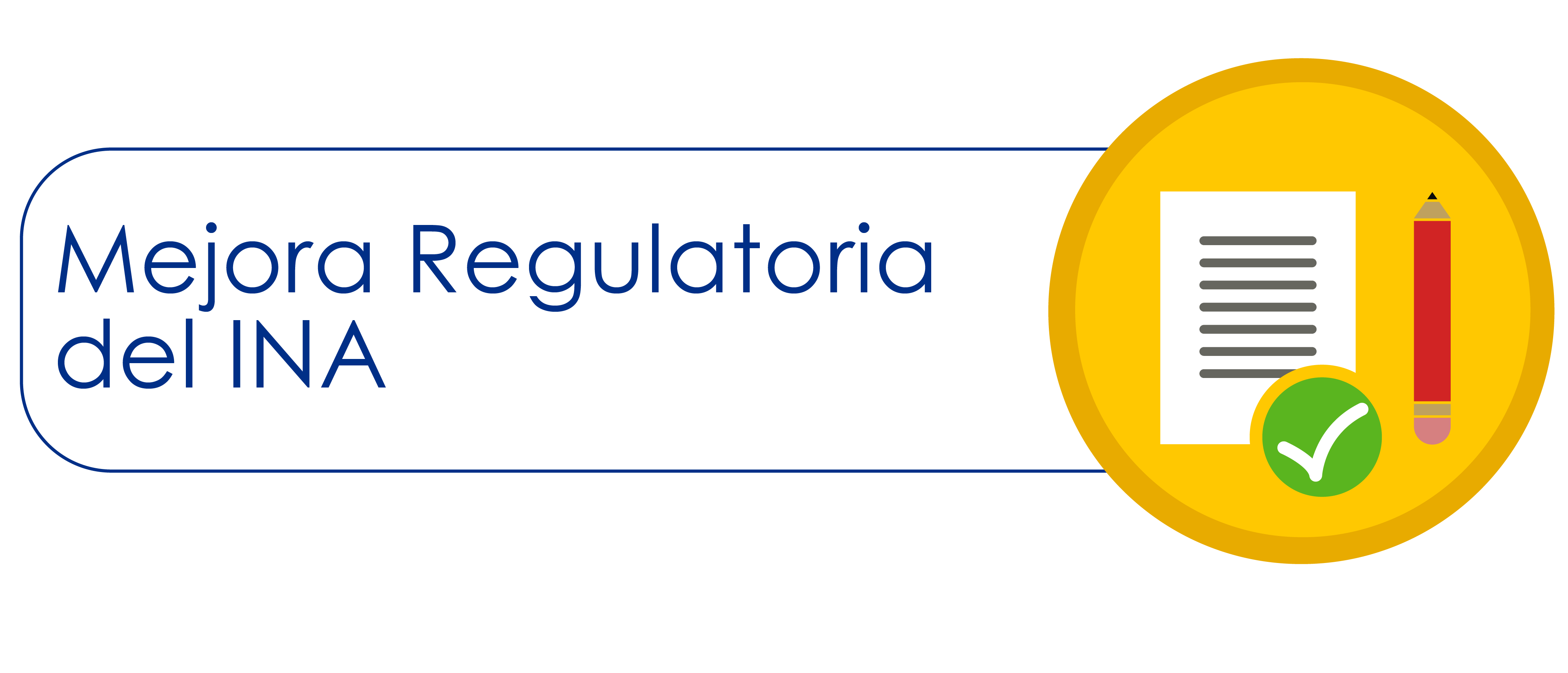 Plan Mejora Regulatoria INA
